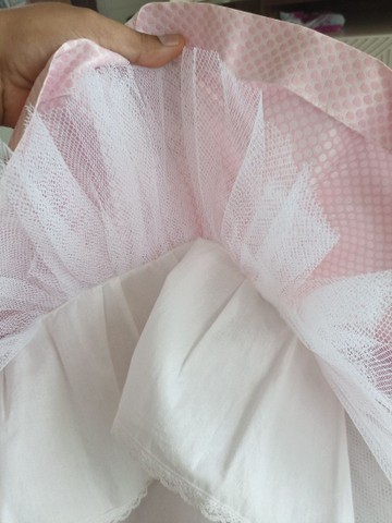 Vestido Marca Mio Bebê usado apenas uma vez - Foto 4