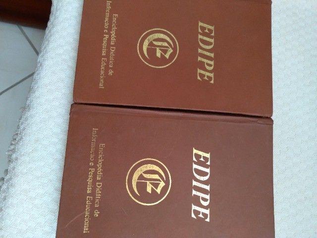 Vendo coleção de livros Edipe! Semi Novo! - Foto 2