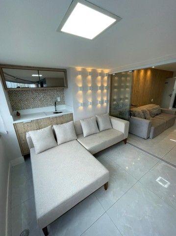 Colina A, apartamento 3/4,suíte,finamente decorado,vista mar,2 vagas - Foto 7