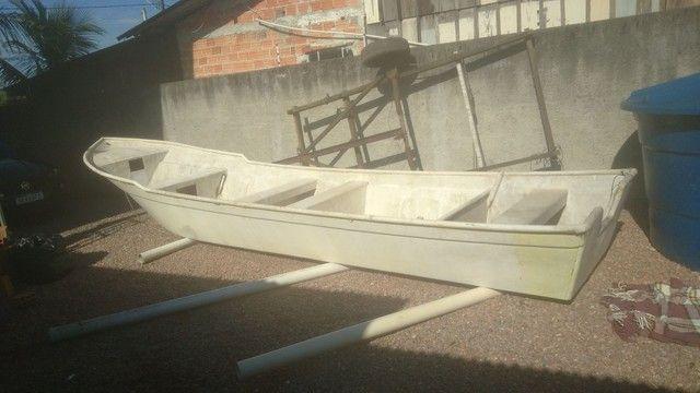 Barco batera bote lancha de fibra  - Foto 6