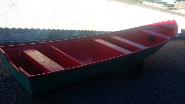 Barco batera bote lancha de fibra  - Foto 2