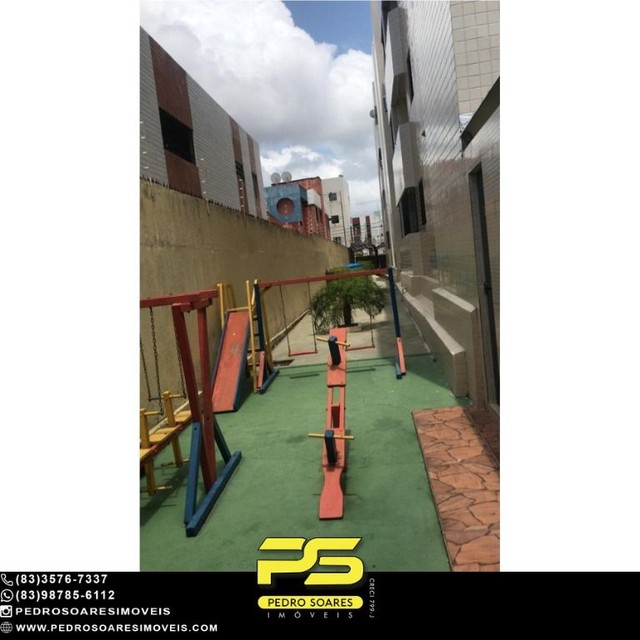 Apartamento com 4 dormitórios à venda, 96 m² por R$ 230.000 - Água Fria - João Pessoa/PB - Foto 5