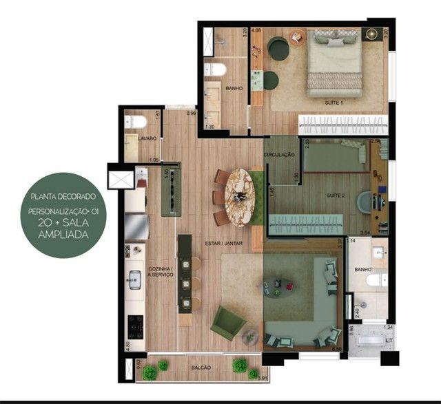 Apartamento à venda com 2 dormitórios em Setor oeste, Goiânia cod:RT21648 - Foto 10