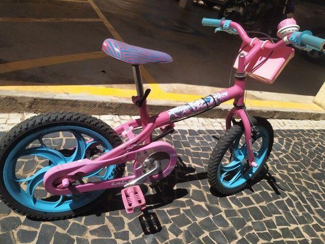 Bicicleta Aro 16 - Barbie - Caloi - Foto 4