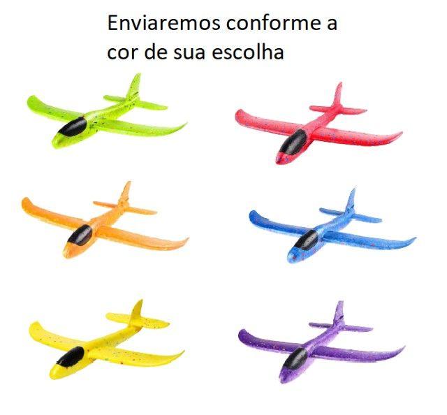 Aeromodelo Planador Manual Avião Isopor Flexível, Muito Divertido!! - Foto 2