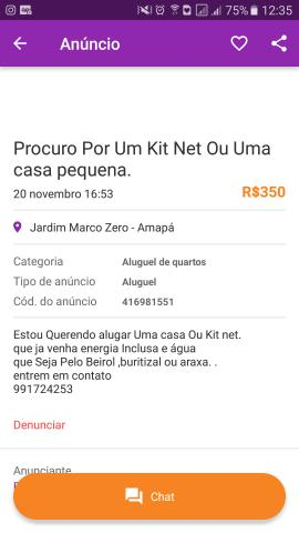 Kit net no Araxá
