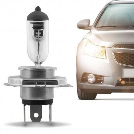 Lampada halógena transparente h4 4200k 100w 24V valor unidade