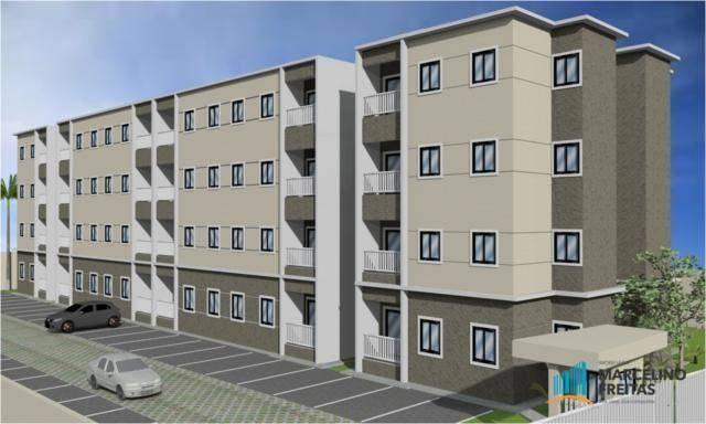 Apartamento residencial à venda, Mondubim, Fortaleza - AP0180.