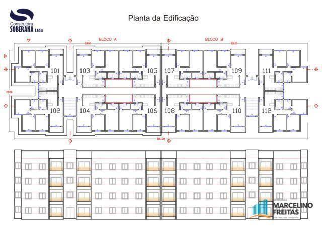 Apartamento residencial à venda, Mondubim, Fortaleza - AP0180. - Foto 3