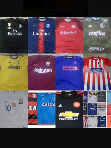 Camisas de times brasileiros e europeus personalizadas - Roupas e ... 5b59bebf838de