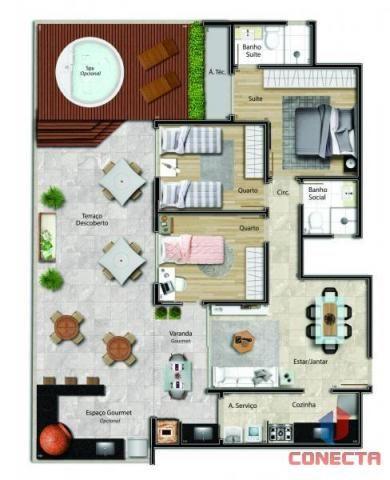 Apartamento para venda em vitória, jardim da penha, 2 dormitórios, 1 suíte, 2 banheiros, 1 - Foto 18