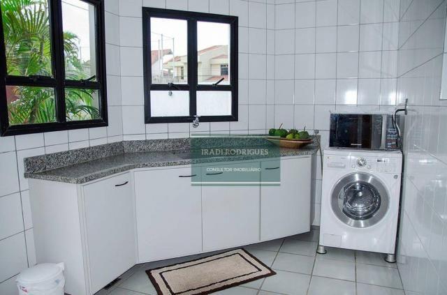Casa com 4 dormitórios à venda, 380 m² por r$ 2.500.000 - mata da praia - vitória/es - Foto 9