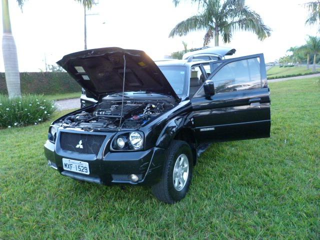 Pagero sport 2.5 4x4 manual a diesel impecavel - Foto 8