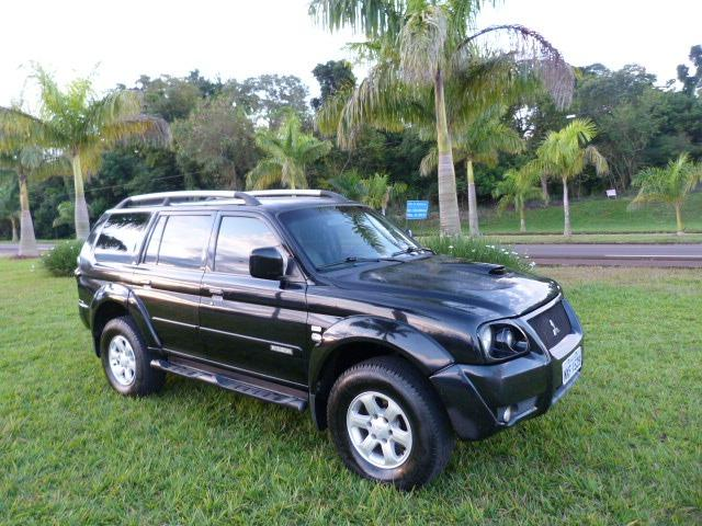 Pagero sport 2.5 4x4 manual a diesel impecavel - Foto 5