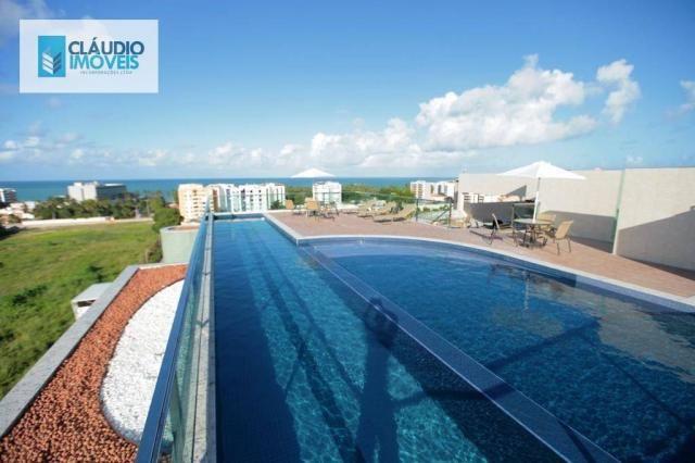 Apartamento com 3 dormitórios à venda, 83 m² por r$ 488.000 - jatiúca - maceió/al