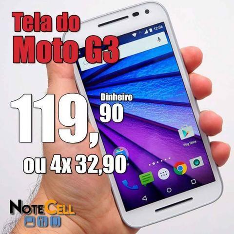 Tela do Moto G3