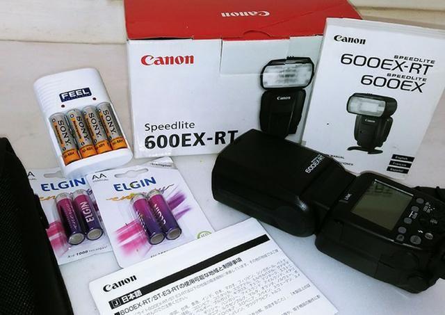 Flash Canon Speedlite 600ex-rt (original Canon)