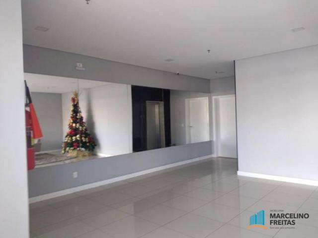Apartamento com 3 dormitórios para alugar, 110 m² por r$ 2.079,00/mês - salinas - fortalez - Foto 4