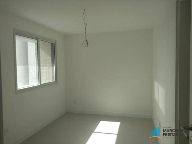 Apartamento com 3 dormitórios para alugar, 110 m² por r$ 2.079,00/mês - salinas - fortalez - Foto 14