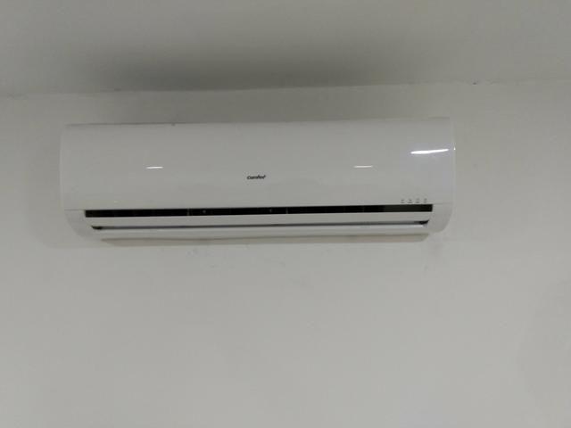 Ar split instalação padrão Tenda e MRV