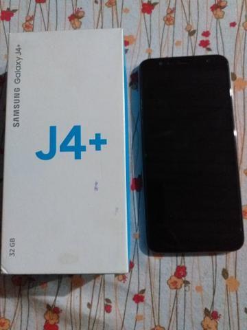 Vendo j4+ dourado completo - Foto 3