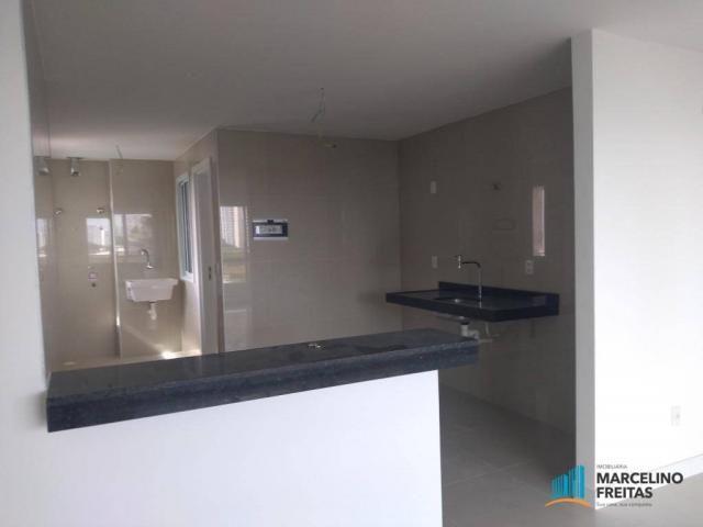 Apartamento com 3 dormitórios para alugar, 110 m² por r$ 2.079,00/mês - salinas - fortalez - Foto 9
