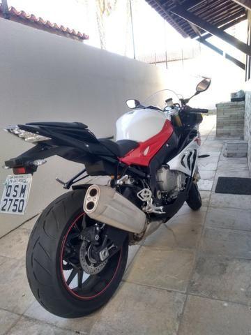 Moto BMW 1000RR muito nova , sem detalhes ! - Foto 2