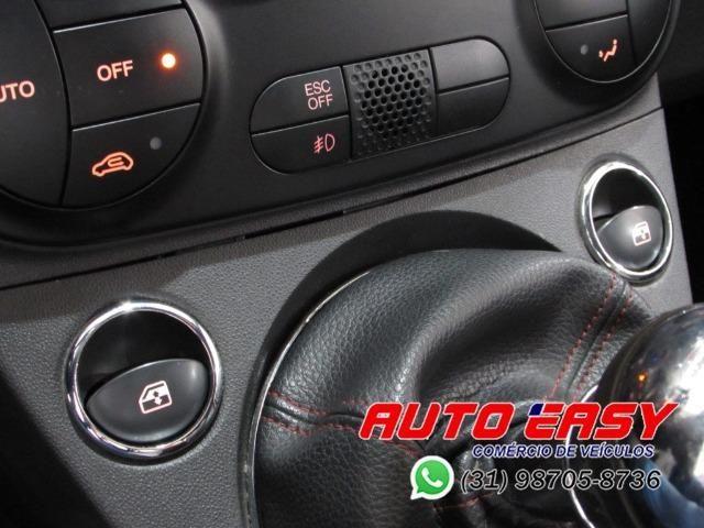 Fiat 500 Sport Air 1.4 C/ Couro! - Foto 17