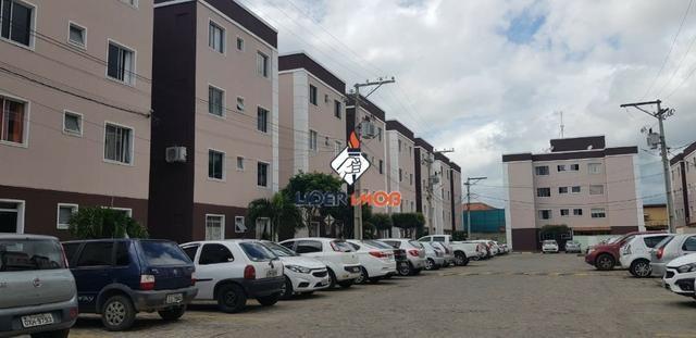 Apartamento 2/4 Semi-Mobiliado no SIM - Condomínio Solar Sim - Próximo a FTC - Foto 9