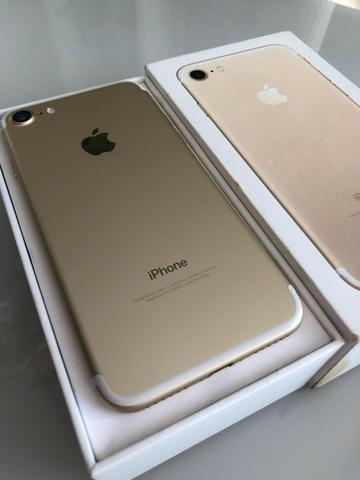 IPhone 7 128gb Dourado intacto semi-novo