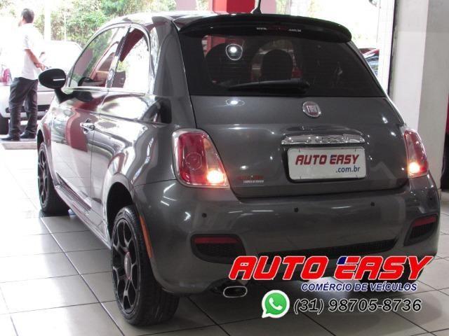 Fiat 500 Sport Air 1.4 C/ Couro! - Foto 2