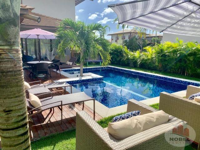 Casa de condomínio à venda com 5 dormitórios em Praia do forte, Mata de são joão cod:5811 - Foto 5