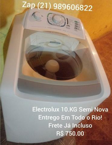 Electrolux 10.KG Semi Nova(1 Ano De Garantia)Entrego