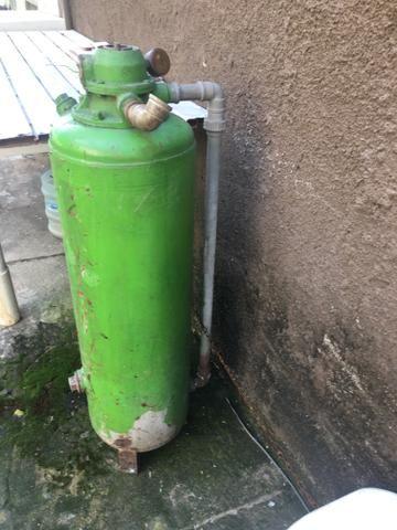 Vendo filtro de água para poço artesiano barato