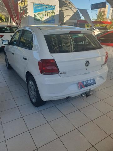 VW gol 2019 1.6 8 mil km rodado único dono cambio automatico extra!!! - Foto 4