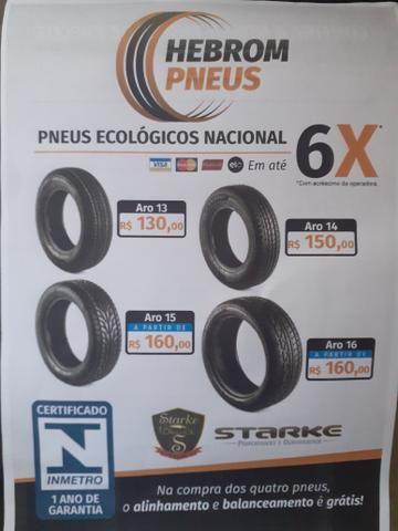 100% pneu ecológico nacional ## 1 ano de garantia - Foto 2