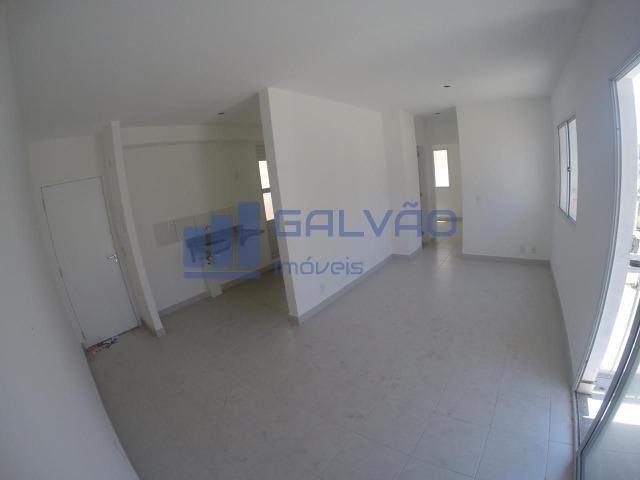 MR- Apartamento de 2Q com Varanda, Escritura Grátis !!! - Foto 2