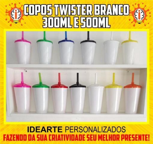 Copo Twister 300ml e 500ml Personalizado