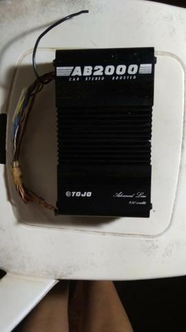 Amplificador de som tojo ab 2000