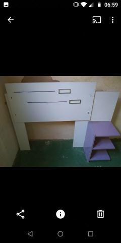 Cabeceira de cama box solteiro motivo mudança de tenho que entregar a casa hj - Foto 4