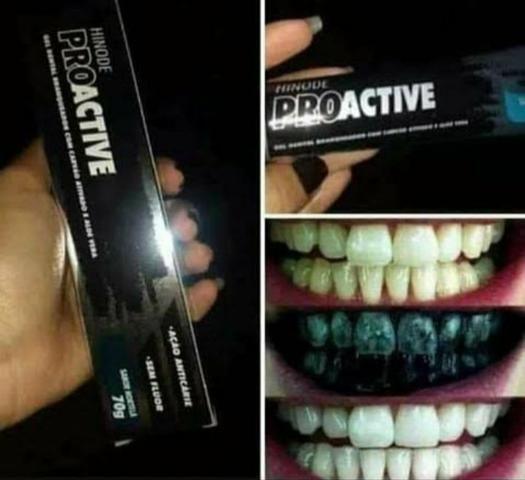 Gel dental de Carvão 70g- Clareamento dental Natural - Foto 6