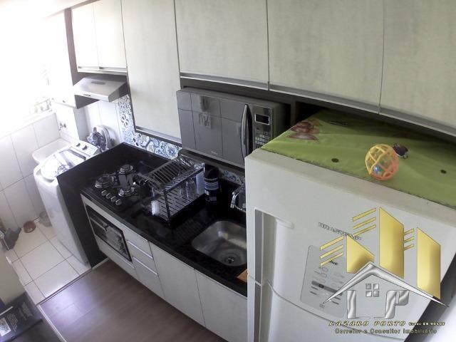 Laz - 62 - Apartamento com modulados na cozinha sala e quartos - Foto 4