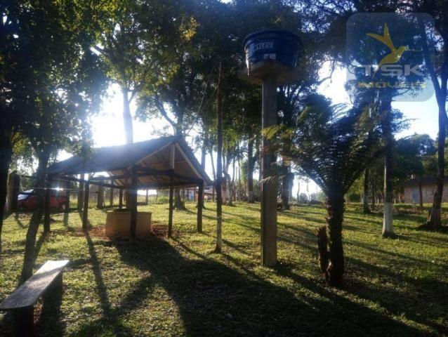 CH0386 - Chácara à venda, 6050 m² por R$ 130.000 - Zona Rural - Quitandinha/PR - Foto 5