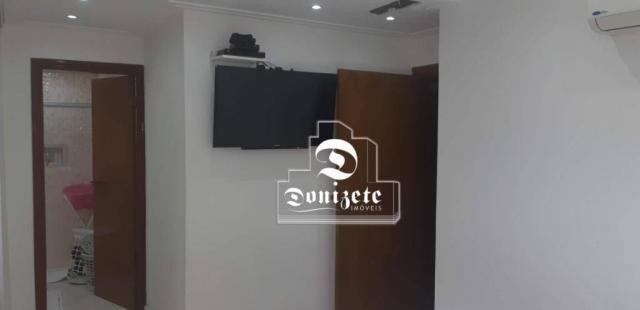Apartamento com 4 dormitórios à venda, 118 m² por R$ 450.000,10 - Campestre - Santo André/ - Foto 15