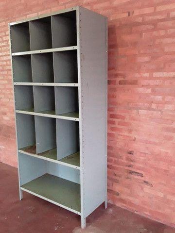 Armário de aço com fundo e laterais - Foto 2