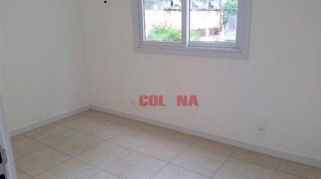 Apartamento com 3 dormitórios à venda, 78 m² por R$ 390.000,00 - Pendotiba - Niterói/RJ - Foto 12