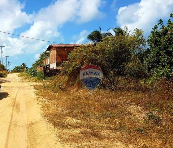 Terreno à venda, 390 m² por R$ 49.000,00 - Cidade Balneária Novo Mundo I - Conde/PB - Foto 4
