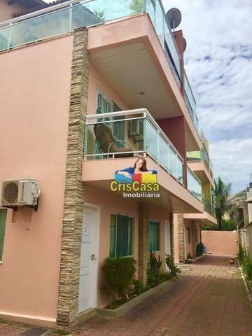 Casa com 3 dormitórios à venda, 130 m² por R$ 415.000,00 - Costazul - Rio das Ostras/RJ
