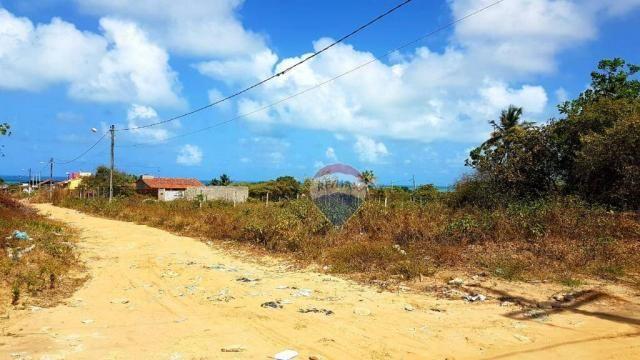 Terreno à venda, 390 m² por R$ 49.000,00 - Cidade Balneária Novo Mundo I - Conde/PB
