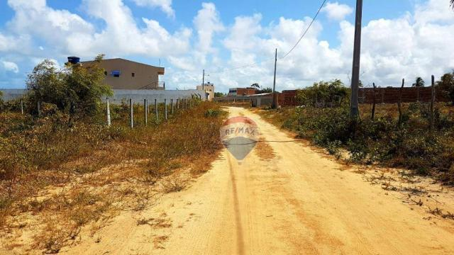 Terreno à venda, 390 m² por R$ 49.000,00 - Cidade Balneária Novo Mundo I - Conde/PB - Foto 5